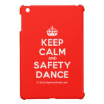 [Crown] keep calm and safety dance  iPad Mini Cases