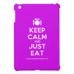 [Cutlery and plate] keep calm and just eat  iPad Mini Cases