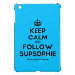 [Crown] keep calm and follow supsophie  iPad Mini Cases
