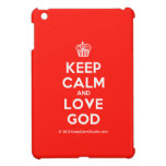 [Cupcake] keep calm and love god  iPad Mini Cases