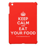 [Crown] keep calm and eat your food  iPad Mini Cases