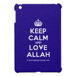 [Crown] keep calm and love allah  iPad Mini Cases