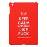 [UK Flag] keep calm and run like fuck  iPad Mini Cases