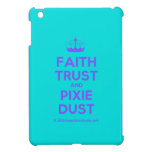 [Knitting crown] faith trust and pixie dust  iPad Mini Cases