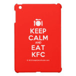 [Cutlery and plate] keep calm and eat kfc  iPad Mini Cases