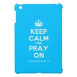 [Crown] keep calm and pray on  iPad Mini Cases