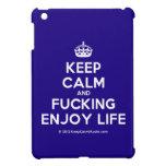 [Crown] keep calm and fucking enjoy life  iPad Mini Cases