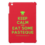 [Chef hat] keep calm and eat some pasteque  iPad Mini Cases