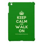 [Crown] keep calm and walk on  iPad Mini Cases
