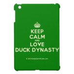 [Crown] keep calm and love duck dynasty  iPad Mini Cases
