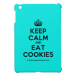 [Crown] keep calm and eat cookies  iPad Mini Cases