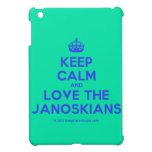 [Crown] keep calm and love the janoskians  iPad Mini Cases