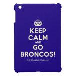 [Crown] keep calm and go broncos!  iPad Mini Cases