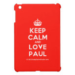 [Crown] keep calm and love paul  iPad Mini Cases