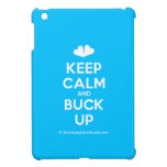[Two hearts] keep calm and buck up  iPad Mini Cases