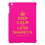 [Crown] keep calm and love shareya  iPad Mini Cases