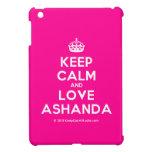 [Crown] keep calm and love ashanda  iPad Mini Cases