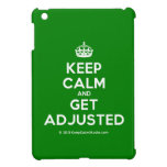[Crown] keep calm and get adjusted  iPad Mini Cases