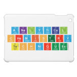Analytical Chemistry Techniques  iPad Mini Cases