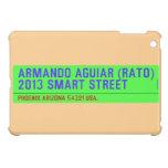 armando aguiar (Rato)  2013 smart street  iPad Mini Cases
