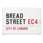 Bread Street  iPad Mini Cases