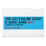 3rd Davyhulme Scout & Guide Band  iPad Mini Cases