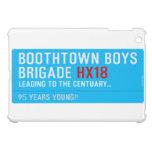 boothtown boys  brigade  iPad Mini Cases