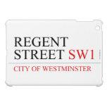 REGENT STREET  iPad Mini Cases