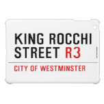 king Rocchi Street  iPad Mini Cases