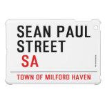 Sean paul STREET   iPad Mini Cases