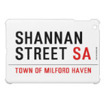 Shannan Street  iPad Mini Cases