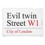 Evil twin Street  iPad Mini Cases