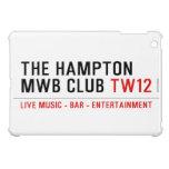 the Hampton  MWB Club  iPad Mini Cases