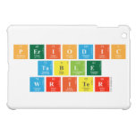 Periodic Table Writer  iPad Mini Cases