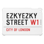 ezkyezky Street  iPad Mini Cases