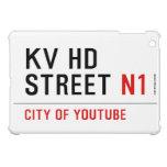 KV HD Street  iPad Mini Cases