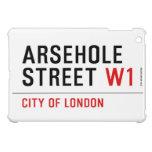 Arsehole Street  iPad Mini Cases