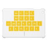 Nadine Redha clamaranthi danisya   iPad Mini Cases