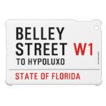 Belley Street  iPad Mini Cases