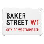 baker street  iPad Mini Cases