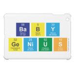 baby genius  iPad Mini Cases