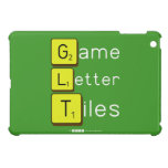 Game Letter Tiles  iPad Mini Cases