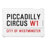 piccadilly circus  iPad Mini Cases
