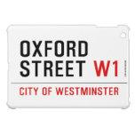 oxford street  iPad Mini Cases