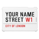 Your Name Street  iPad Mini Cases