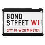 Bond Street  iPad Mini Cases