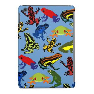 ipad mini Colorful, Fun kids frogs case