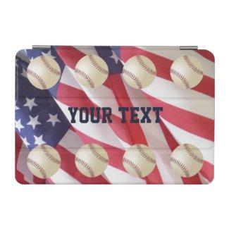 iPad Mini Cover, Flags with Baseballs