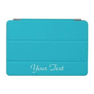 iPad Mini Cover Scuba Blue and White Personalized
