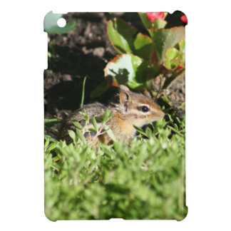 iPad mini cover with photo of cute chipmunk